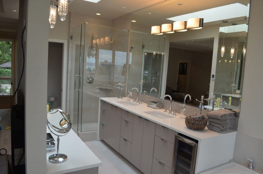 west Vancouver bathroom project