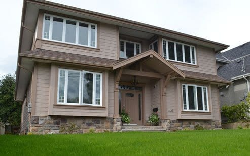 Inglewood Ave. New House, West Vancouver BC