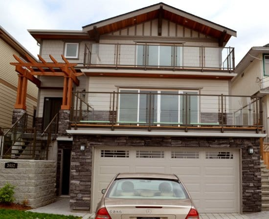Mahon Ave. New House, North Vancouver BC
