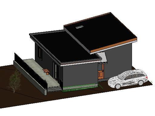 One storey Laneway house