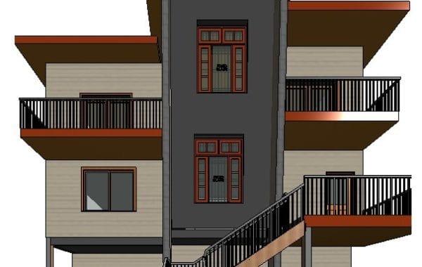 6th Ave Duplex design,  Squamish BC