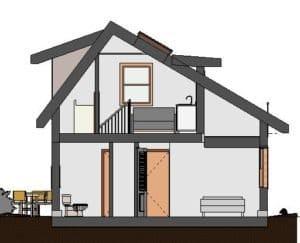 Laneway house design