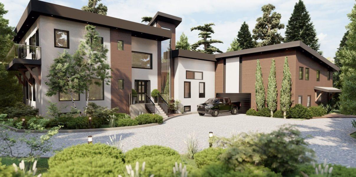 Maple ridge contemporary interior designer