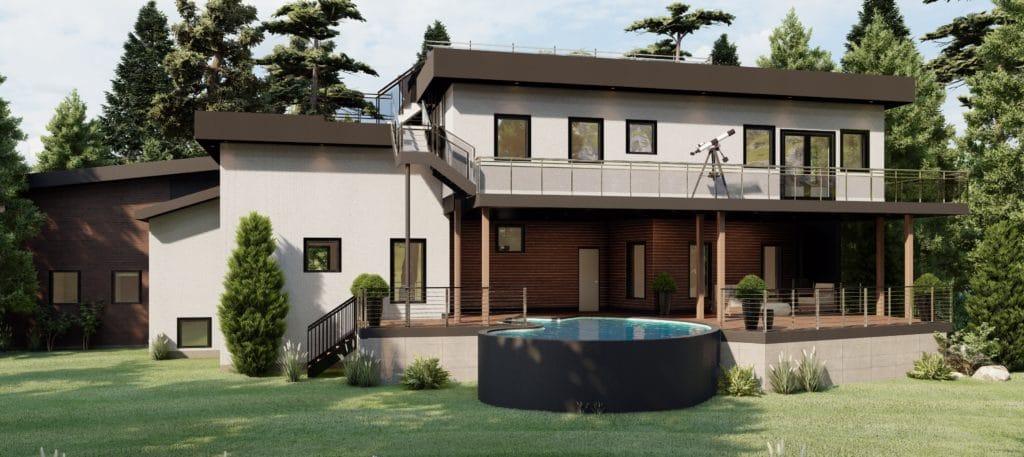 Maple ridge modern home designer