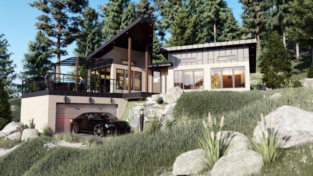 sunshine coast cabin, a passive house