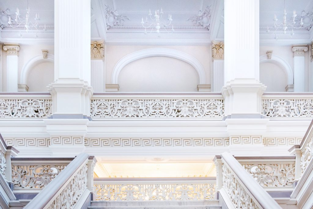 Split Stairs Design