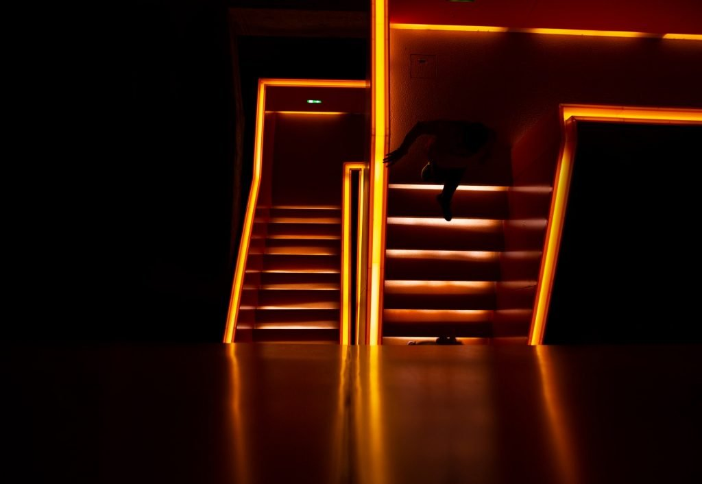 Lightened Stairs