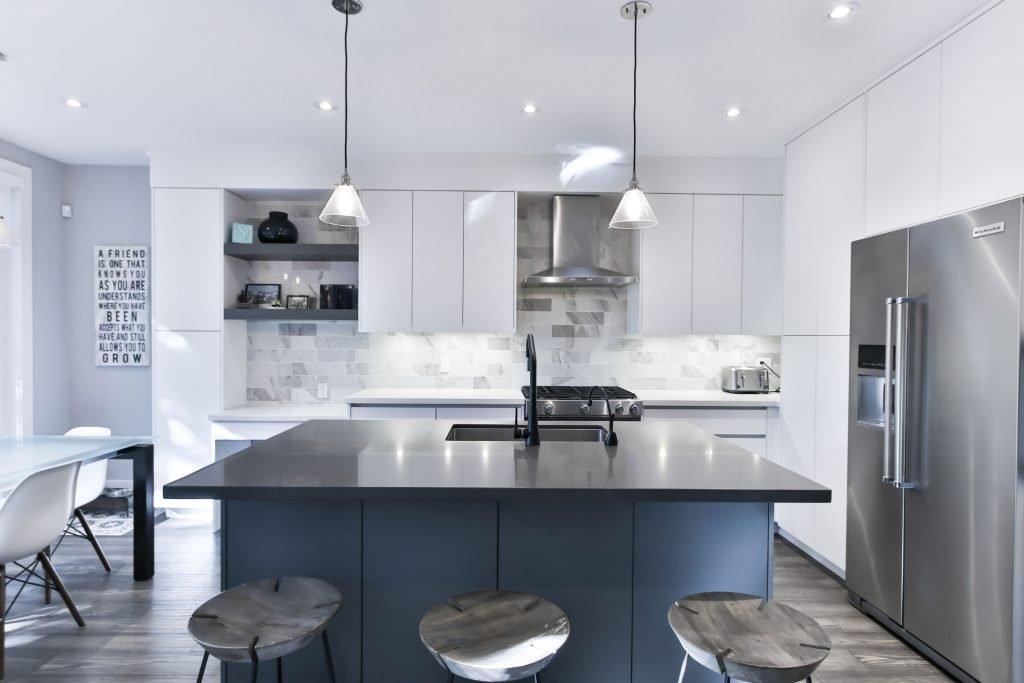 A Modern Open-Space Kitchen