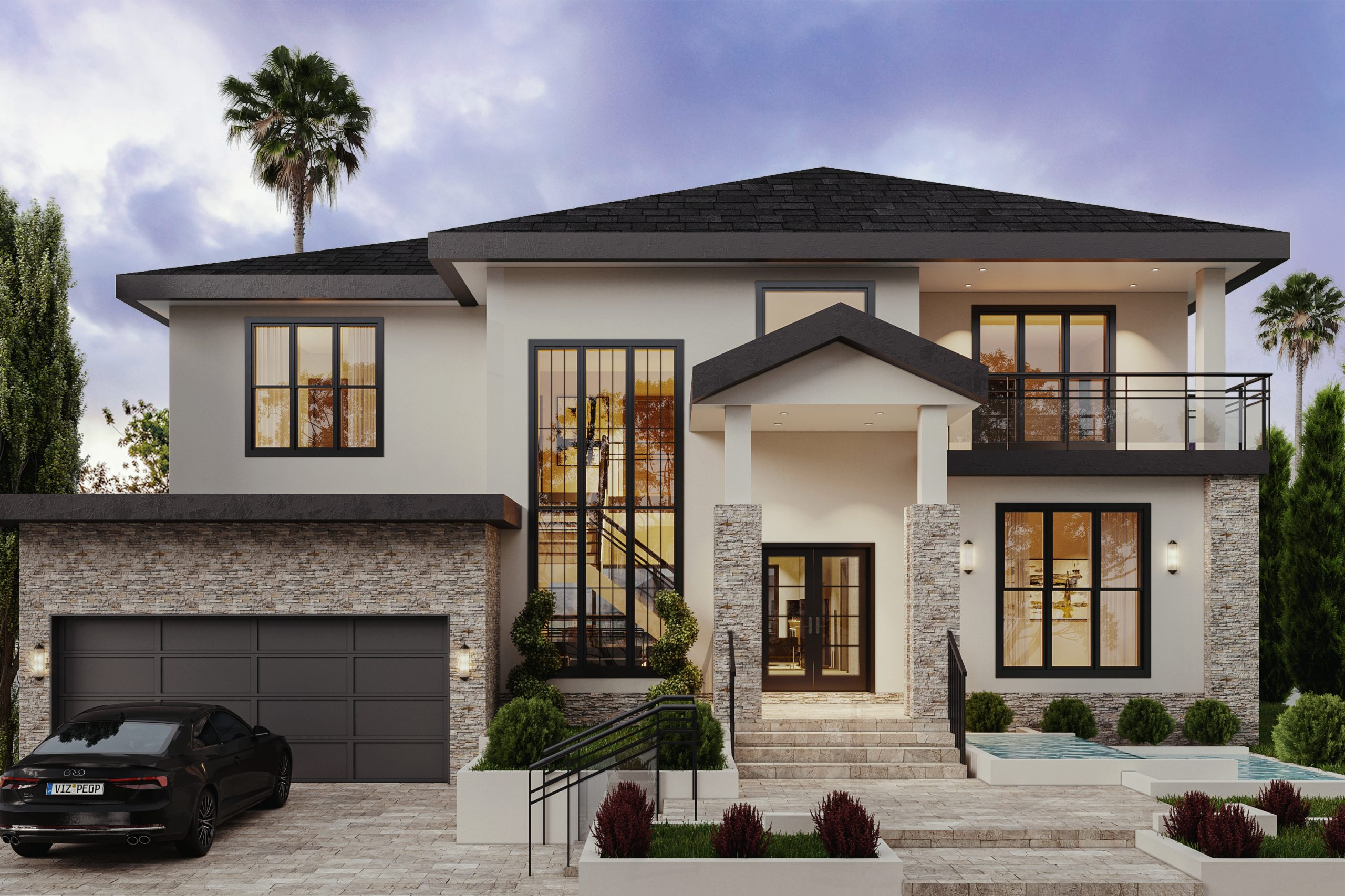 Add a second story to the house