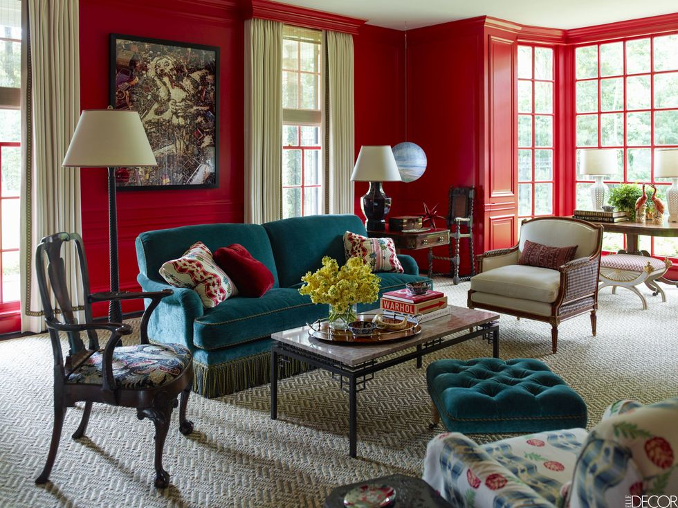 Valentine's Day Home Remodeling - Red Wall Paint